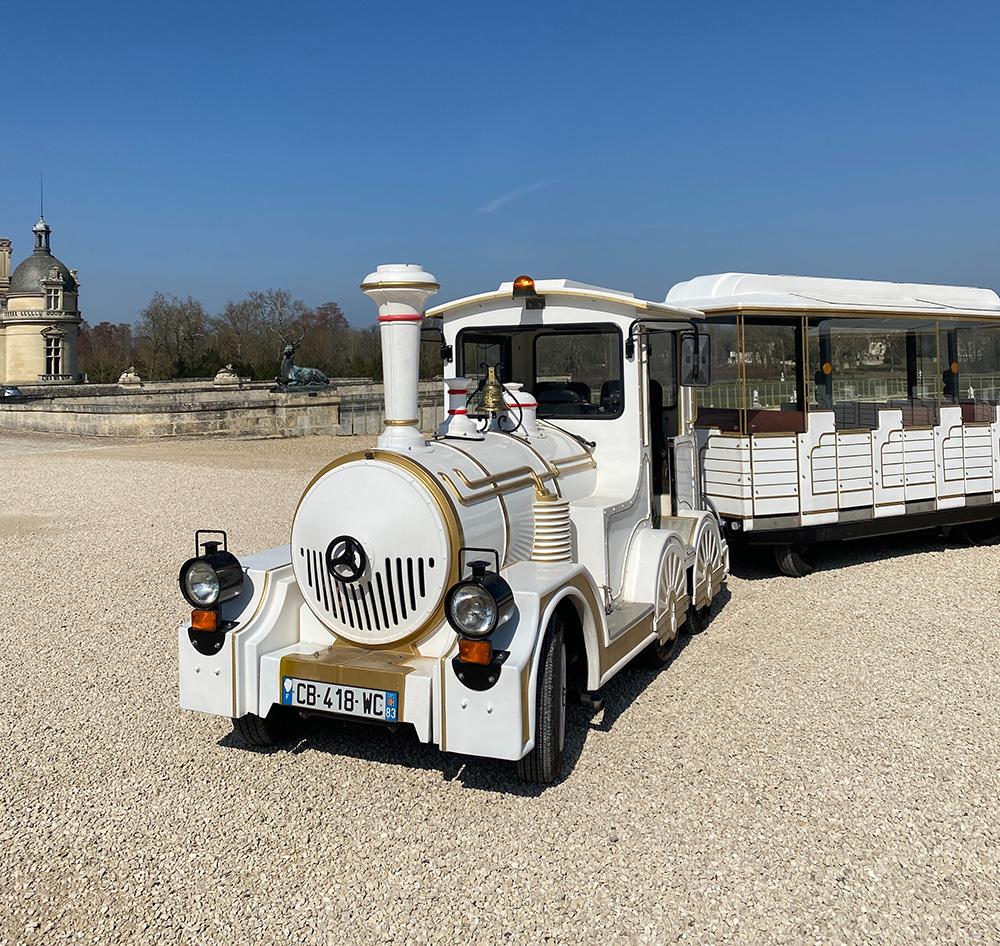 Petit train du Château de Chantilly